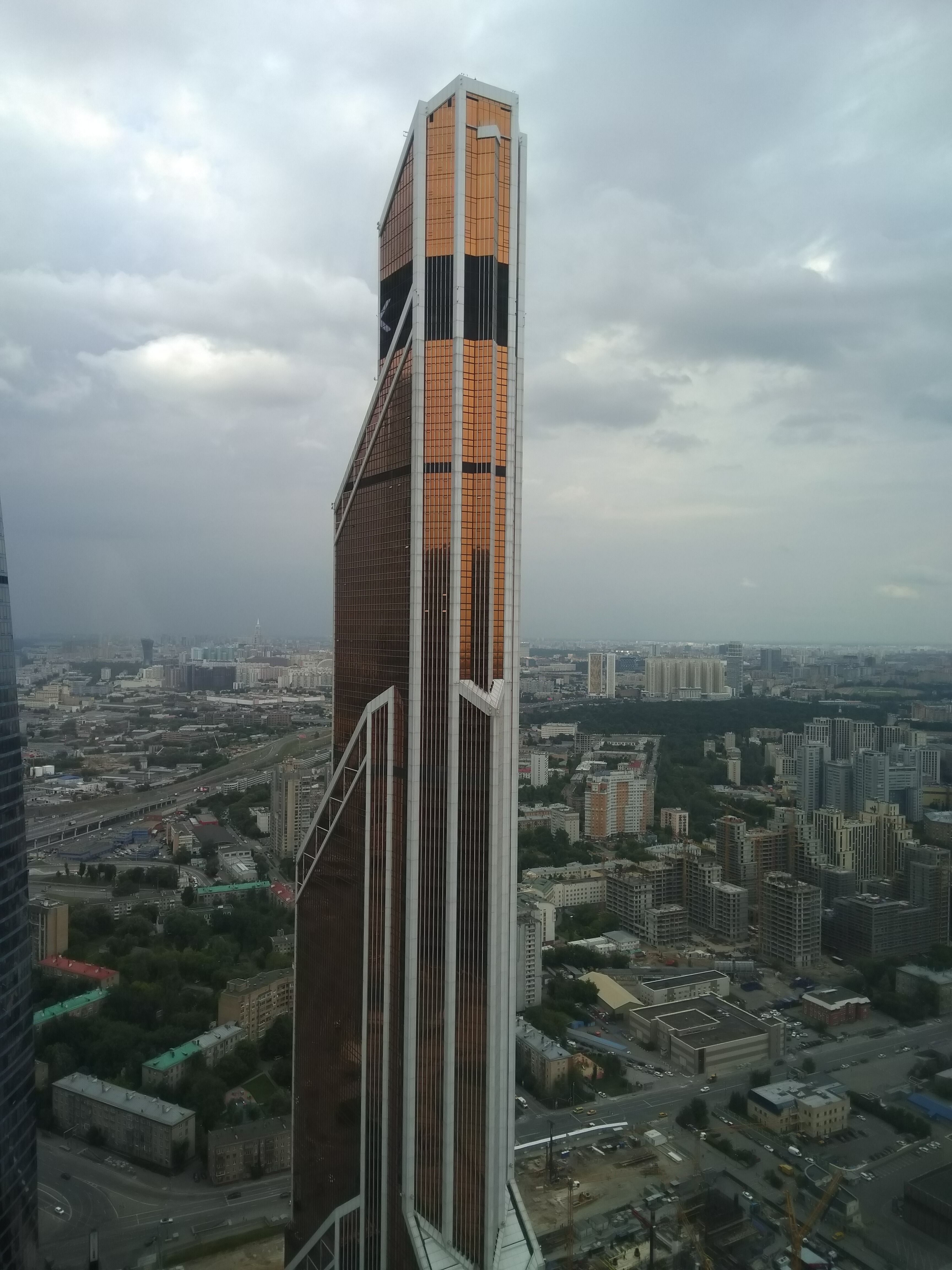 Wolkenkrabbers In Moskou City Wolkenkrabbers Hedendaagse Architectuur Architecten