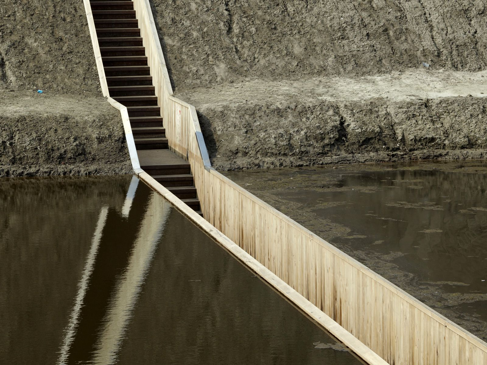 'Moses Bridge' by RO Architecten (and also possibly the best-named bridge in the world)