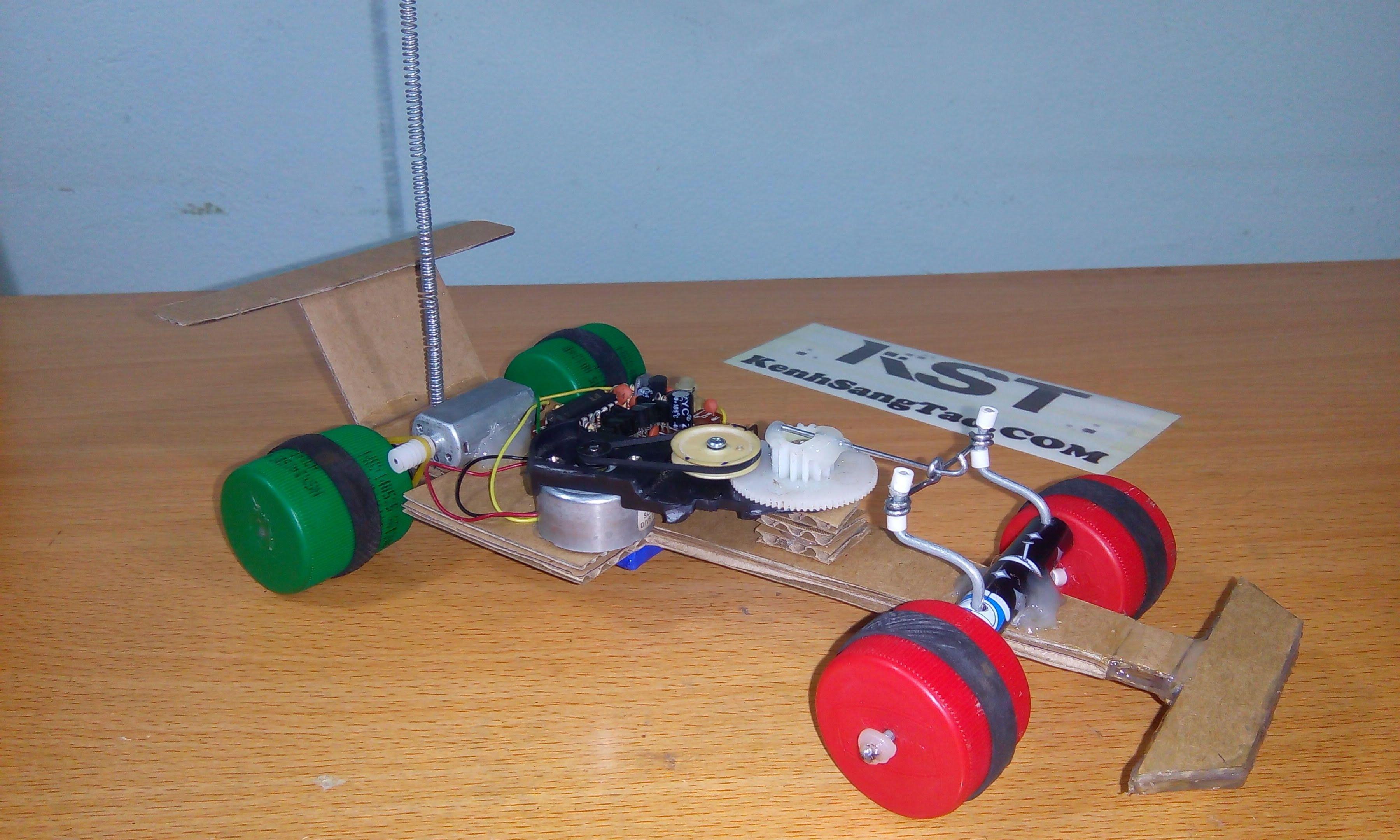 Diy formula 1 racing car remote control f1 rc mini