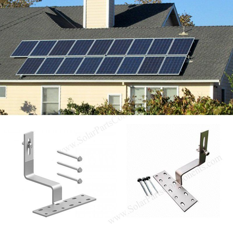 Non Adjustable Solar Tile Roof Mounting System In 2020 Solar Tiles Solar Roof Solar Panel