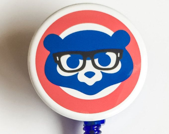 chicago cubs id badge reel id badge reels pinterest chicago