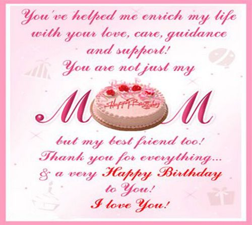Heart Touching Birthday Wishes For Mom Happy Birthday Mom Quotes Happy Birthday Mom Birthday Greetings For Mom