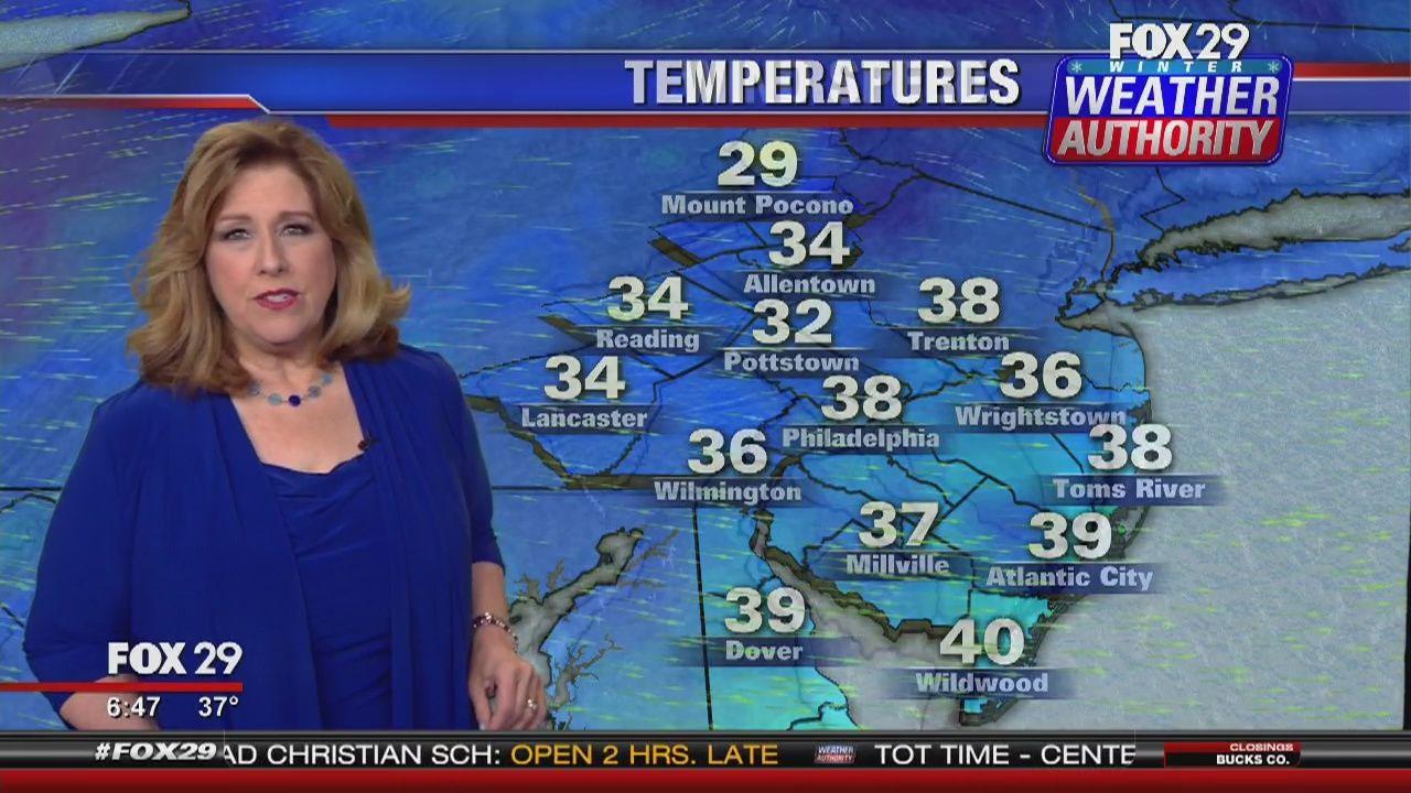 FOX 29's Sue Serio delivers your 7-day forecast  | Sue Serio