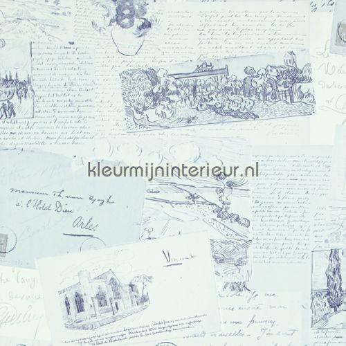 Letters behang 17203, Van Gogh van BN Wallcoverings