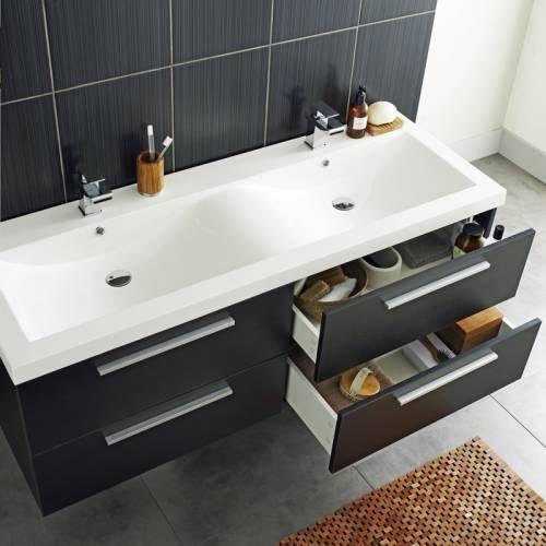 Hudson Reed Meuble de salle de bains Double Vasque Kervignac