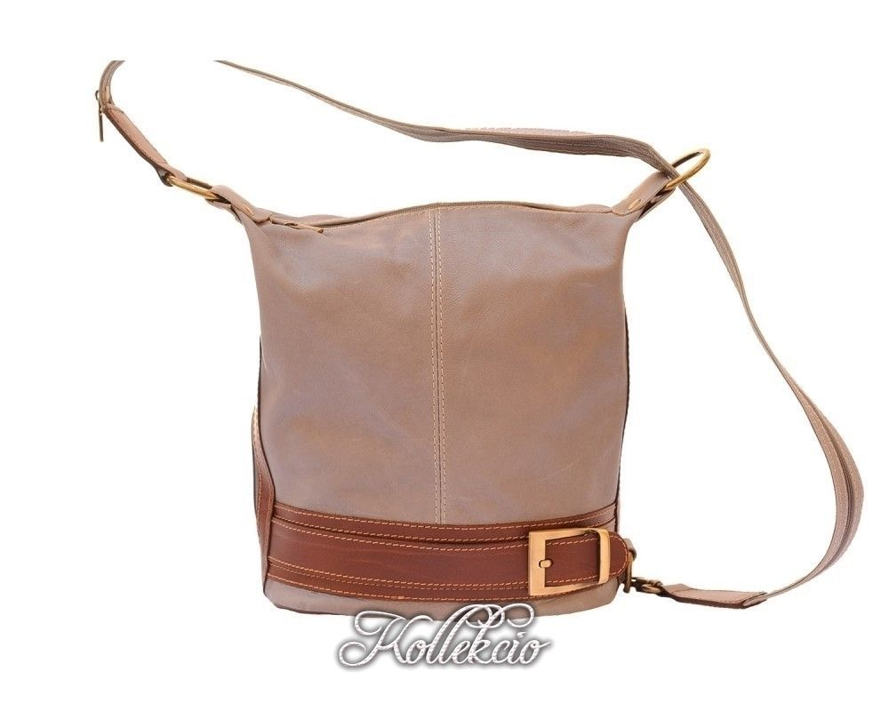 Genuine Italian Leather Taupe Backpack Purse   Products   Pinterest 688198c91ac