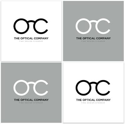 Optical Company Brand Identity Logotype Branding Oc Monogram
