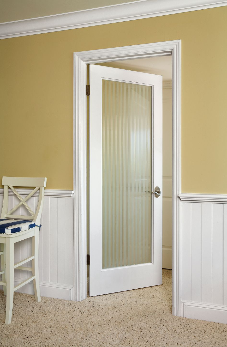 Reed Glass Door By Homestory For Either The Master Bathroom Or Interior Basement