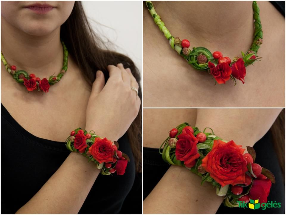 red rose jewellery