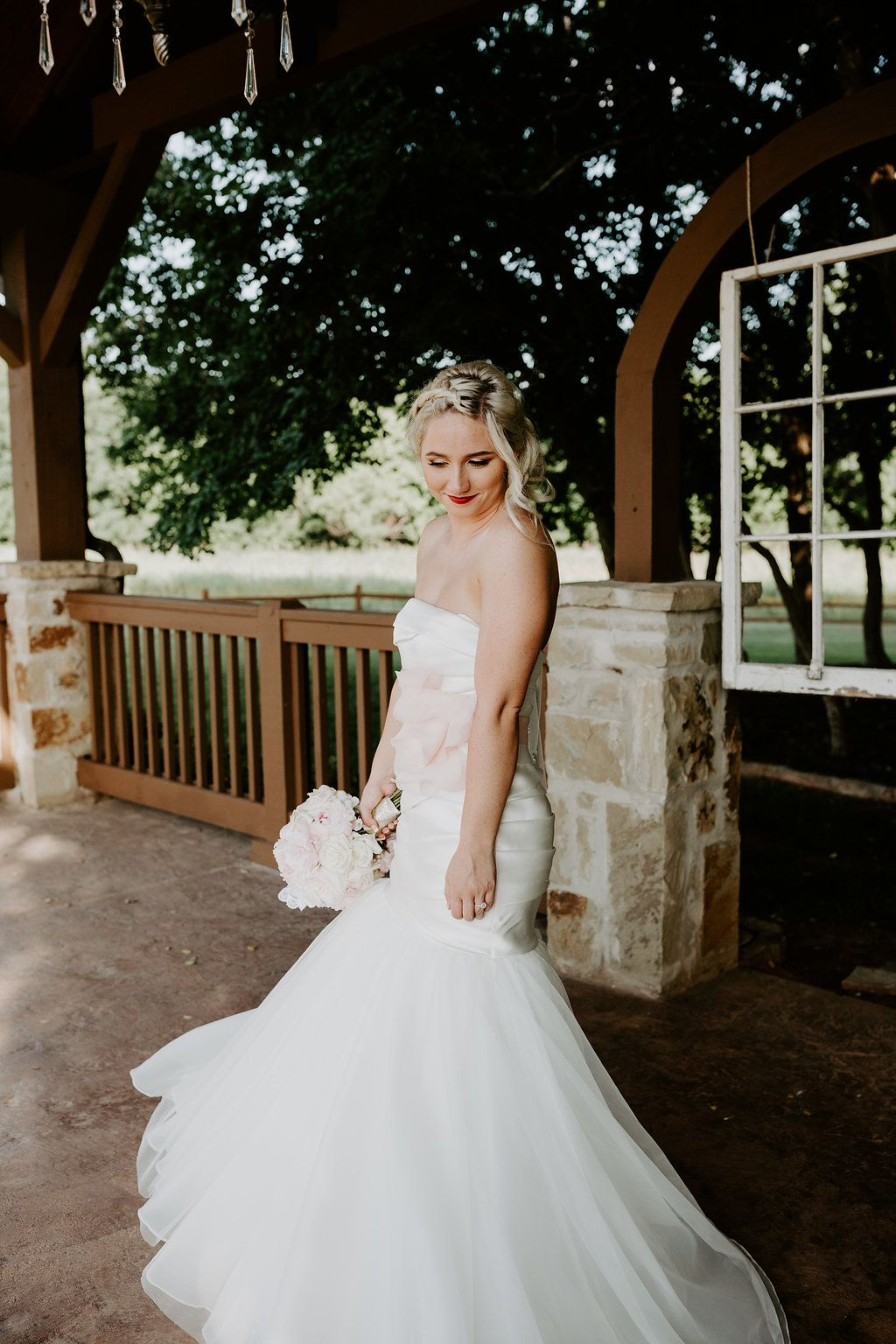 Rustic Wedding Dress Unique Gown Country Brides Of Oklahoma Trumpet Southern