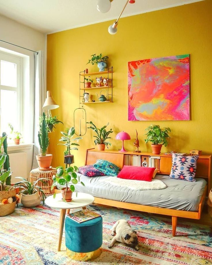 pinstalk my closet on colourful homes in 2020  yellow