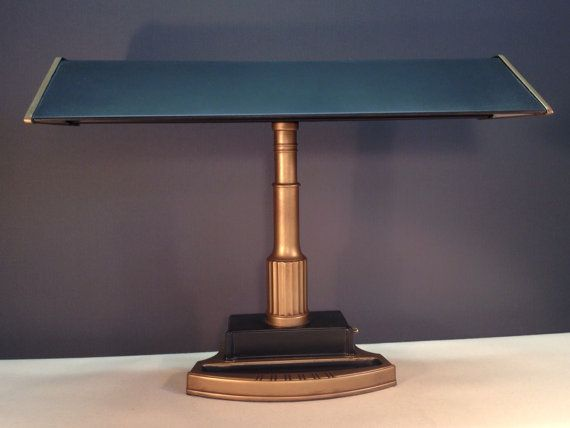 Beautifully Restored 1940 S Art Deco Desk Lamp Art Deco Desk Lamp Vintage Lighting