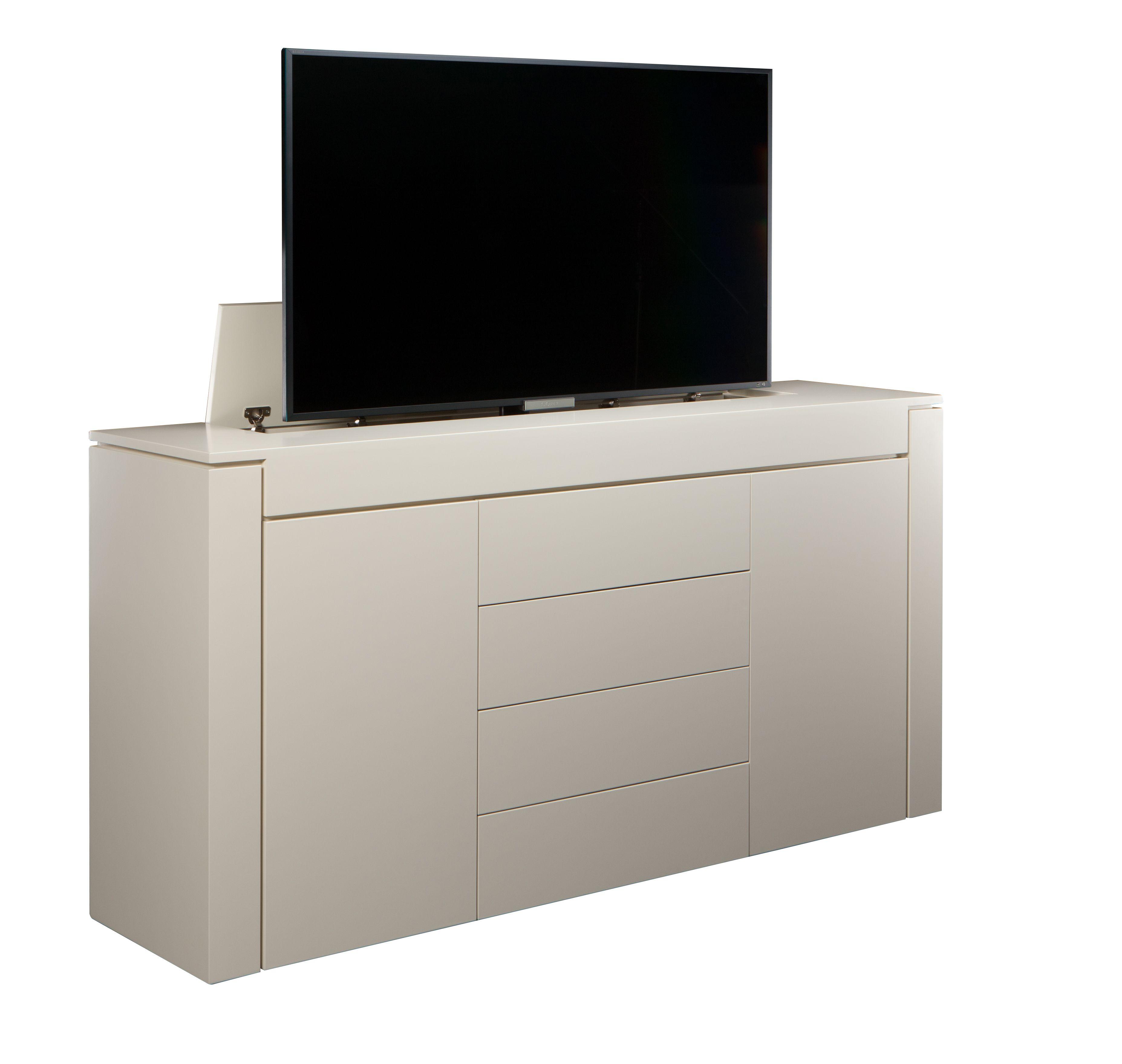 Retractable Tv Cabinet Modern Buffet Tv Lift Cabinet Tv Cabinets