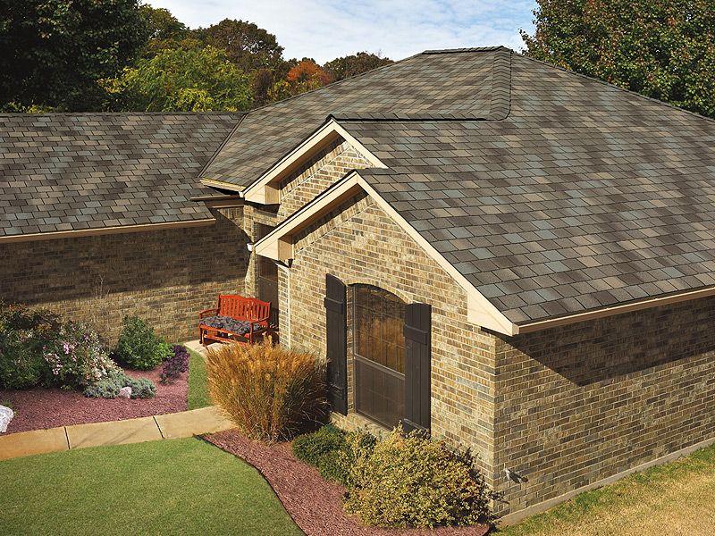 Weathered Wood gaf designer roof shingles home