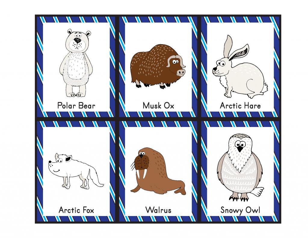 Arctic Animals Bingo