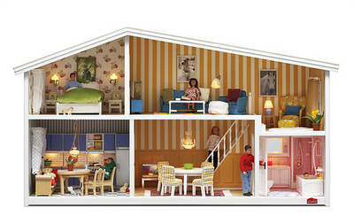 The Constant Gatherer: Lundby Dollhouses