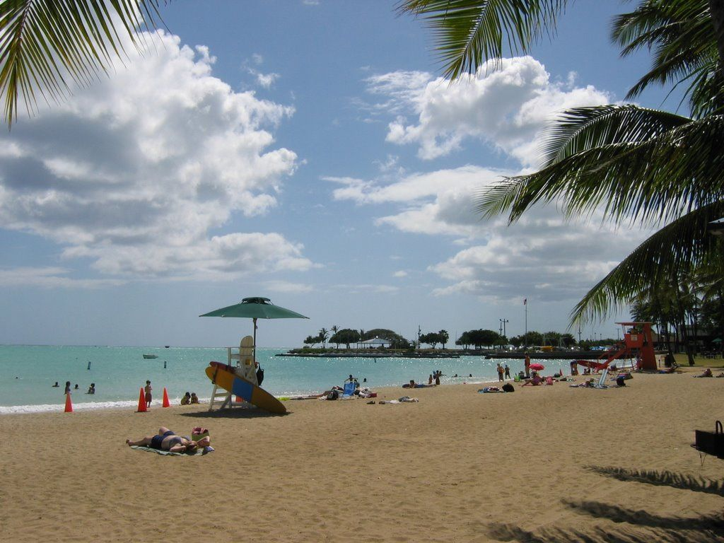 hickam afb | Hickam Air Force Base Beach | Places that ...