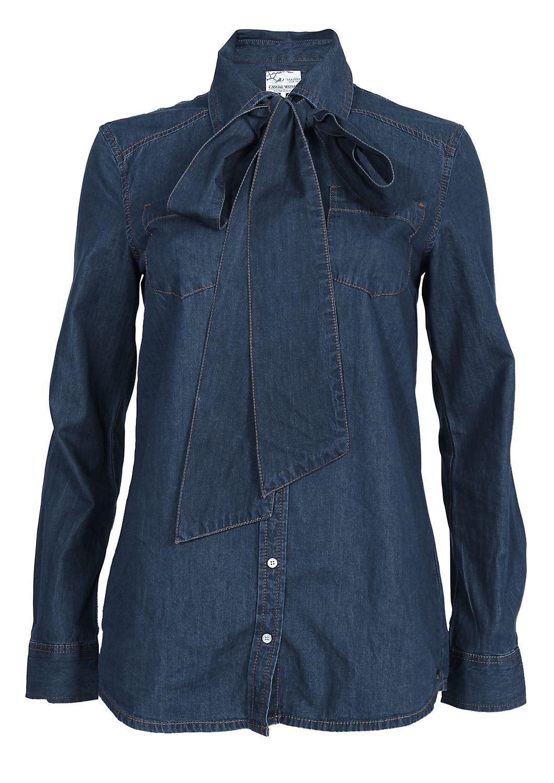 schluppenbluse jeans