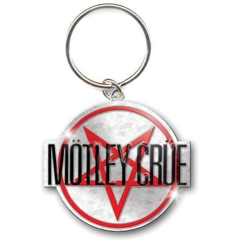 Motley Crue - Keychain - Metal - Star Logo (UK Import) in