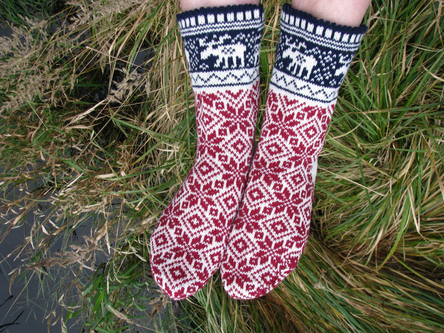 Christmas socks knit socks wool socks red socks norwegian socks christmas socks knit socks wool socks red socks norwegian socks knitted socks bankloansurffo Image collections