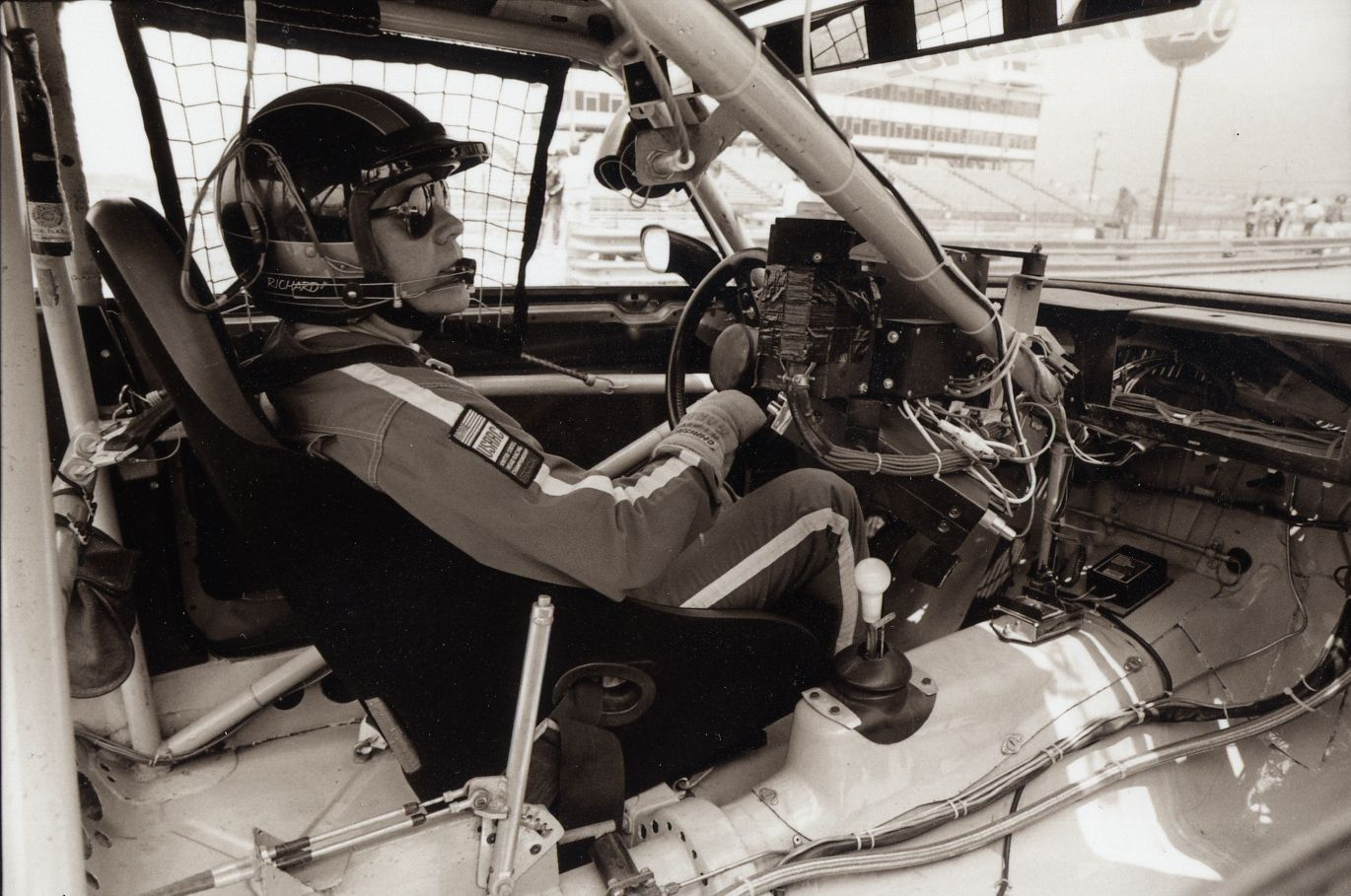 Richard's second office in '81 and '82. Volvo, Turbo, Racing
