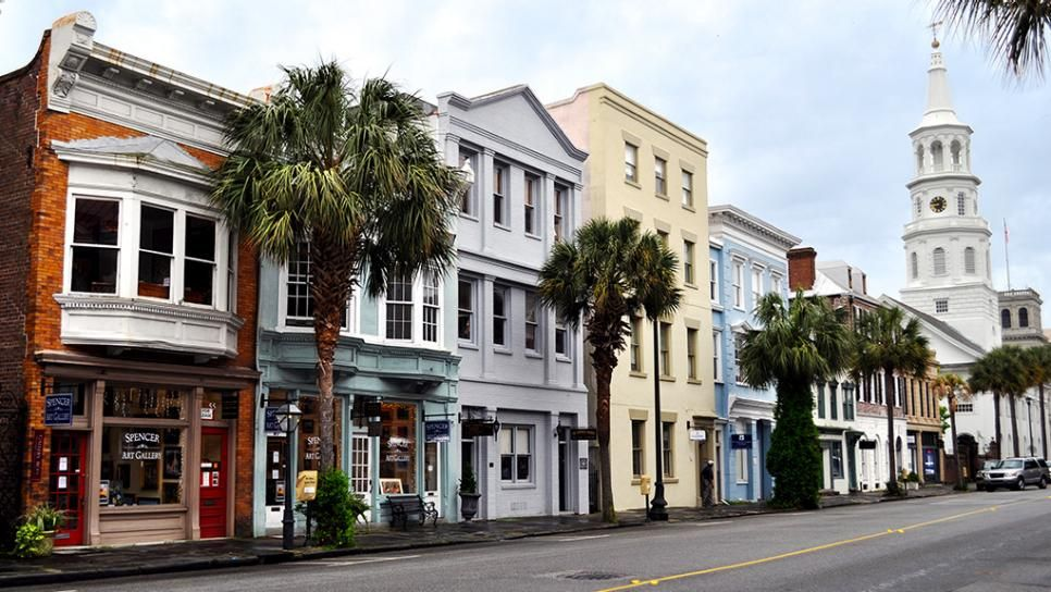 Charleston downtown broad street south carolina city for How do i get to charleston south carolina
