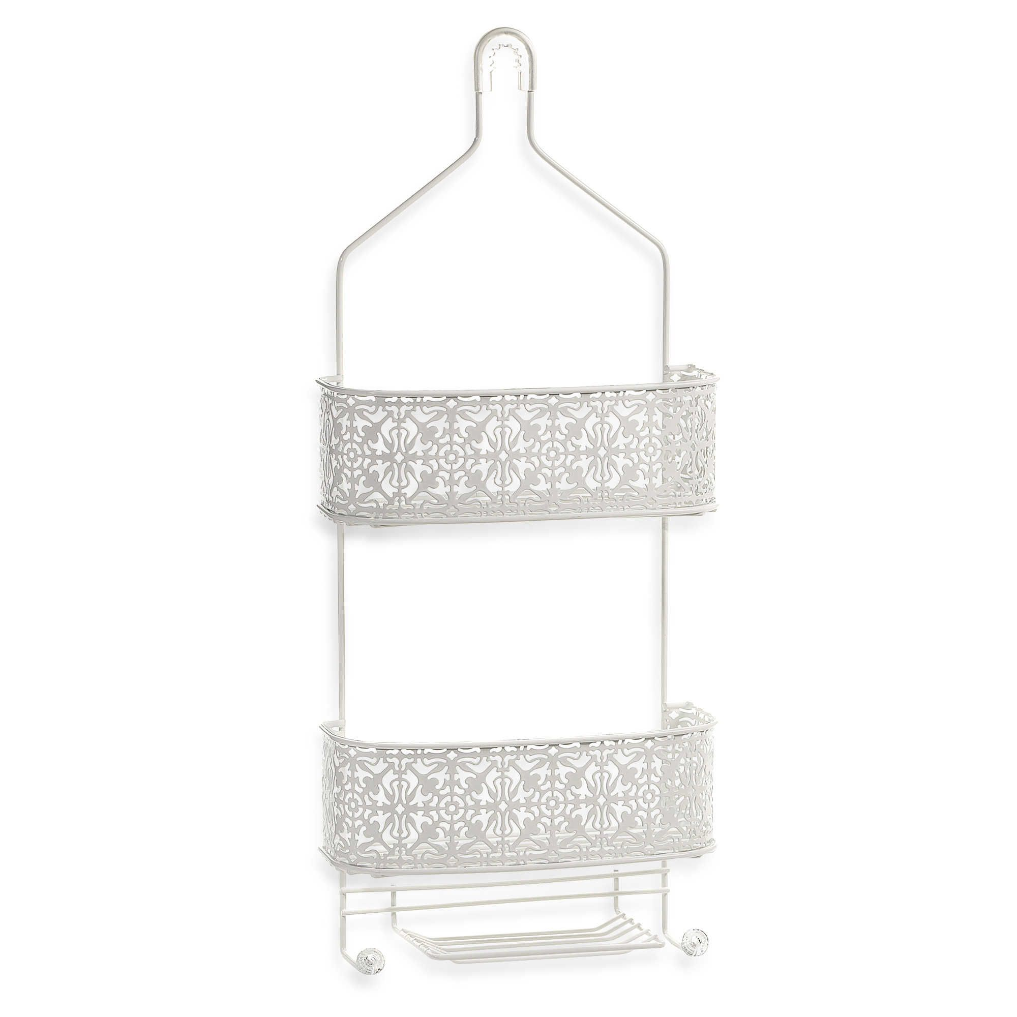 "Lace Shower Caddy | 10.75"" x 4"" x 25.25"""