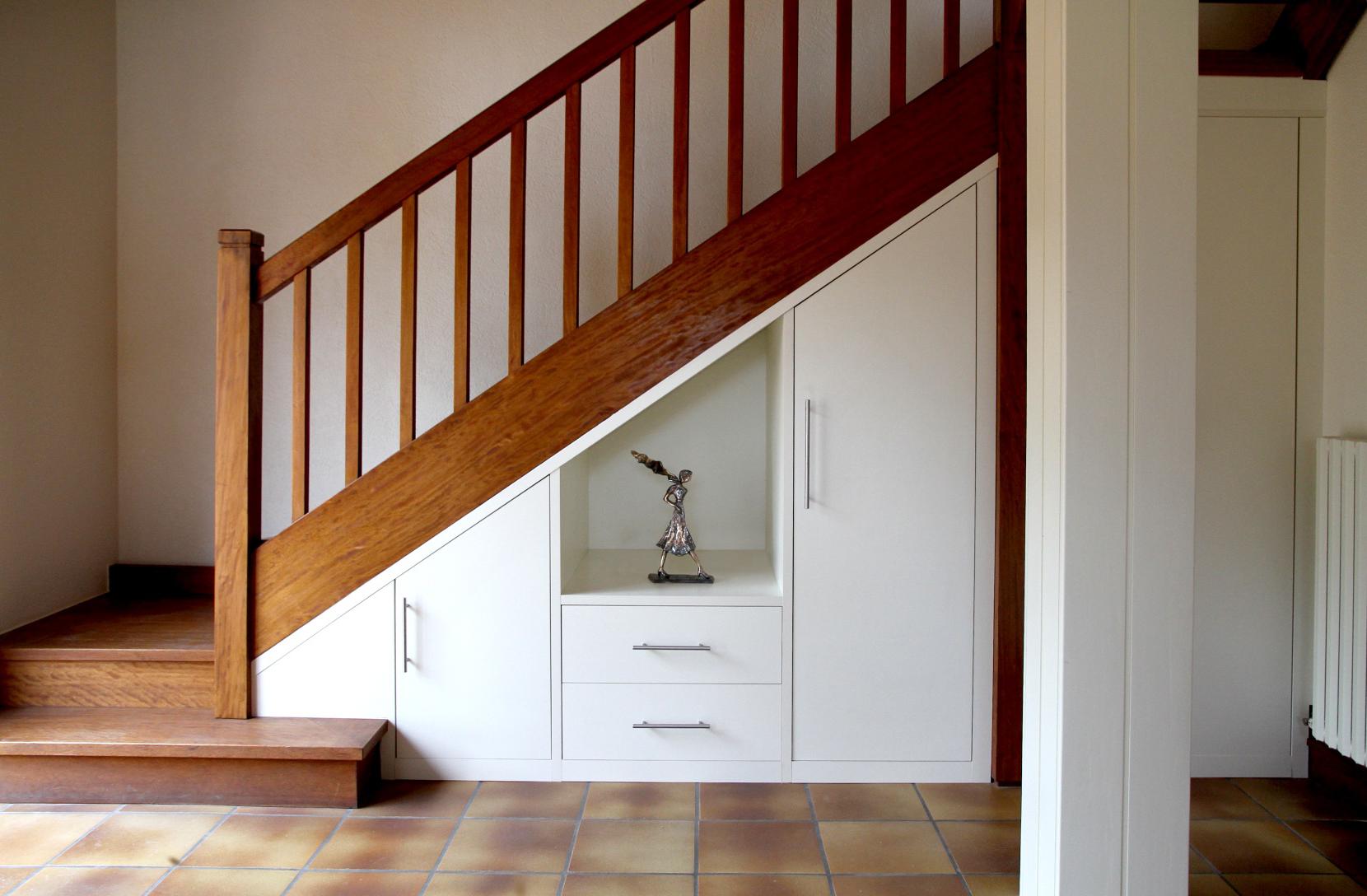 placard sous escalier | Meuble sous escalier, Placard sous escalier, Rangement sous escalier