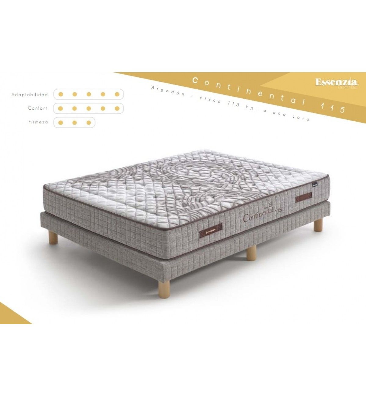 Essenzia Dormire Continental 115 Colchon Colchones Camas
