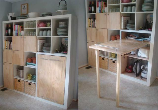 9 Space Making Storage Hacks For Small Kitchens Small Kitchen Storage Ikea Craft Room Ikea Crafts