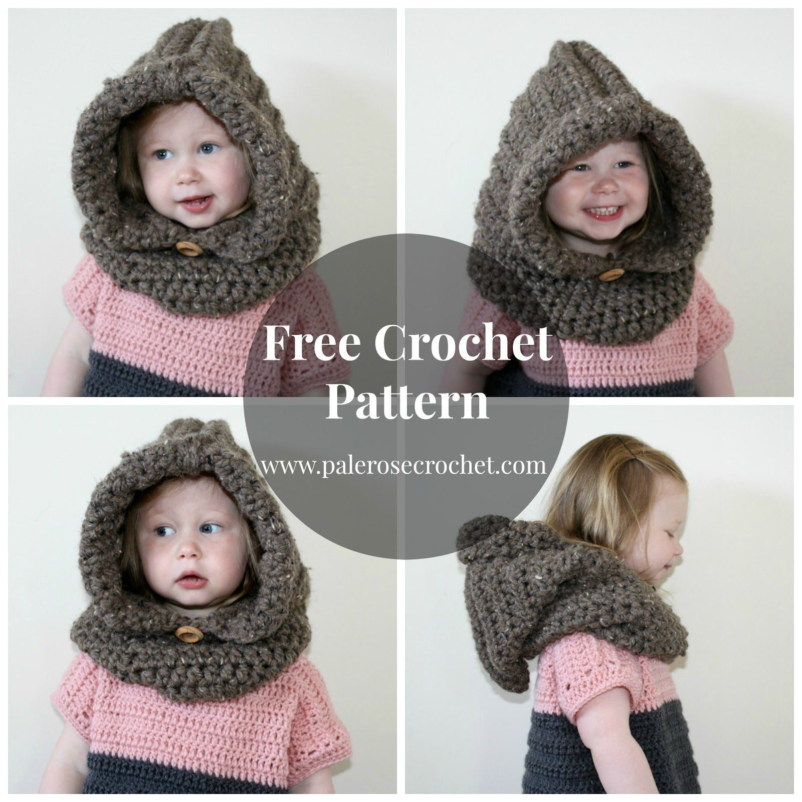 Pale rose crochet crochet toddler hood pattern crochet hats free crochet bankloansurffo Gallery