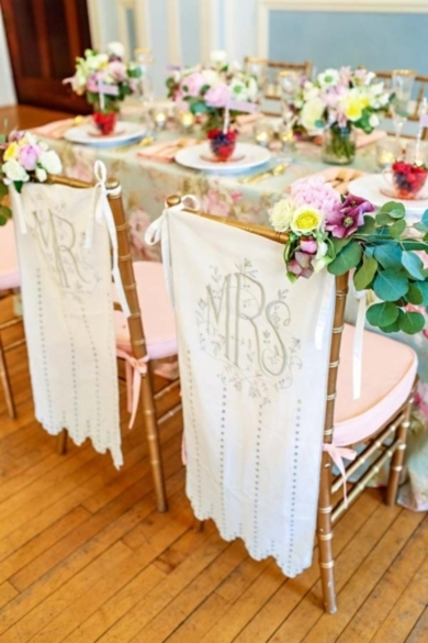 Vintage pastel wedding table decor #decor #mint #pink #pastel  Photo by: Kelly Braman Photography on Wedding Chicks