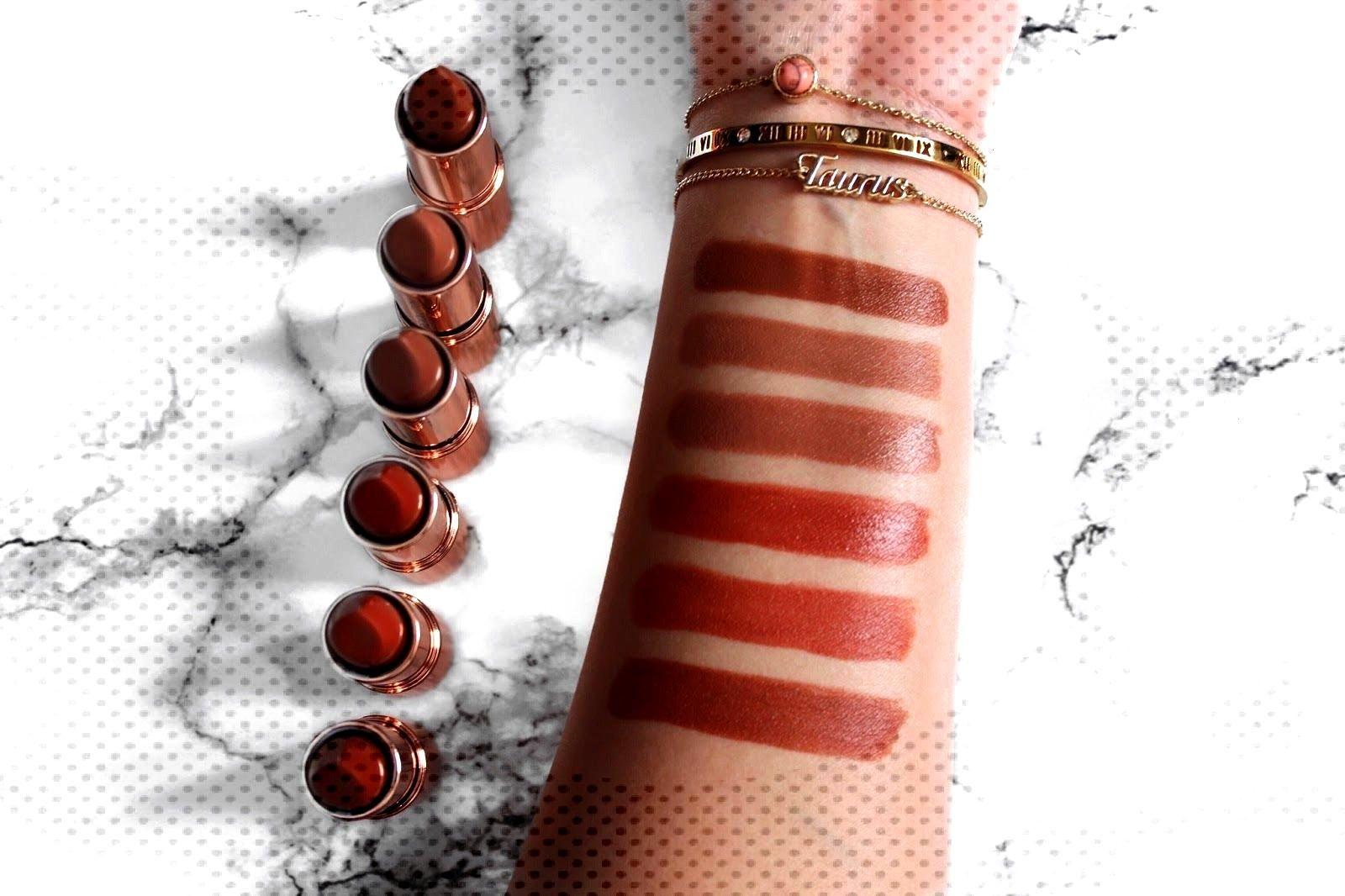Makeup Revolution Renaissance Lipsticks   Review makeupcontainers