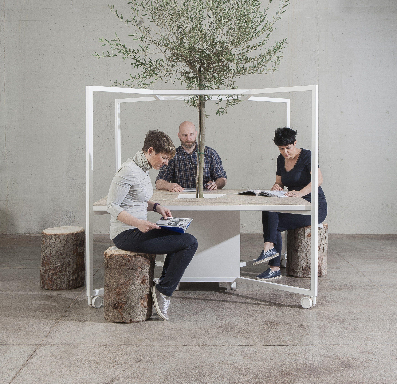 HUB fice workstation by FANTONI design Matteo Ragni