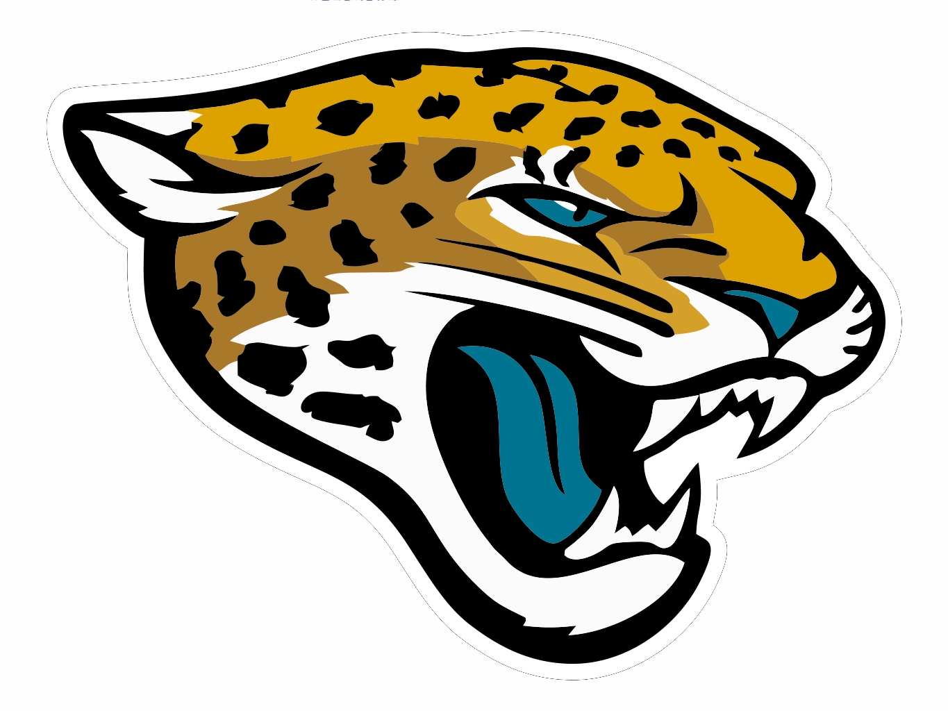 jacksonville jaguars cut free images at clker com vector clip rh pinterest ca jaguar clipart png jaguar clip art black and white