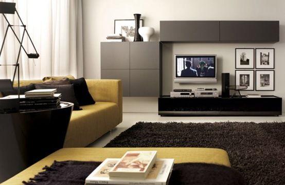 salas modernas salas minimalistas muebles elegantes fotos de - kleine wohnzimmer modern