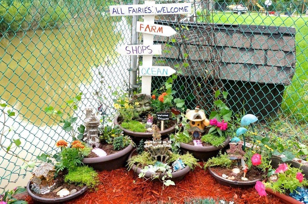 You can make your own Fairy Garden
