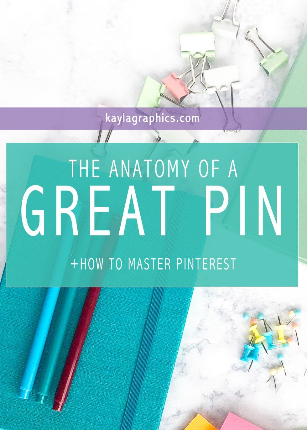The Anatomy Of A Great Pin | Pinterest pin, Anatomy and Pinterest ...