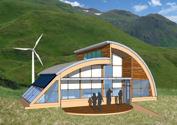 Quonset hut homes plans net zero challenges of a wet for Quonset hut home designs