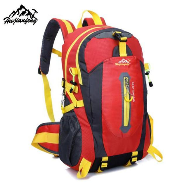 97ea6a84e775 Brand 40L Outdoor Mountaineering Backpack Hiking Camping Waterproof ...