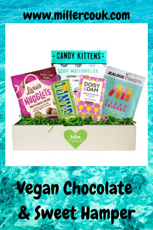 Vegan Chocolate Sweets Treats Gift Hamper Box 5 Vegan Snacks In 2020 Sweet Hampers Vegan Chocolate Chocolate Sweets