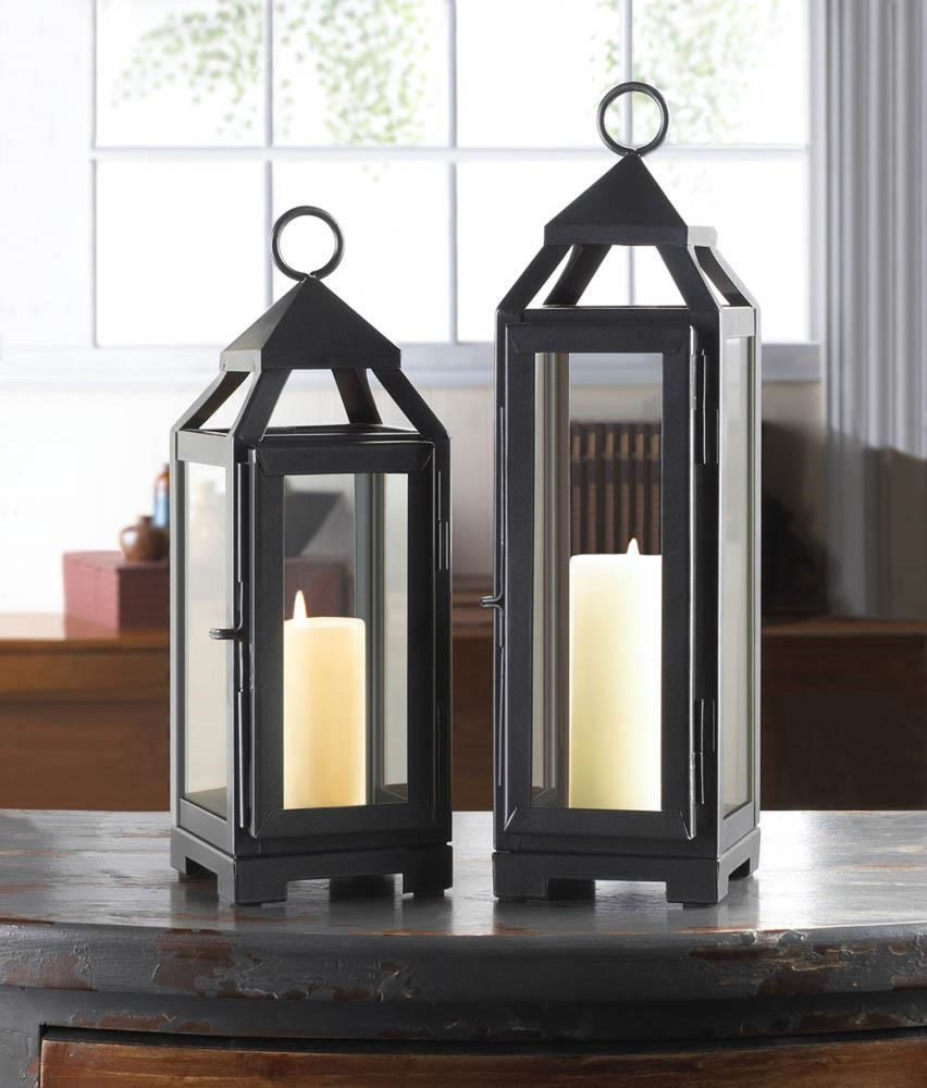 Small Soft Black 3 5 X 12 Tall Thin Slender Narrow Malta Candle Holder Lantern Lamp Light Fl Candle Lanterns Outdoor Candle Lanterns Outdoor Candle Holders
