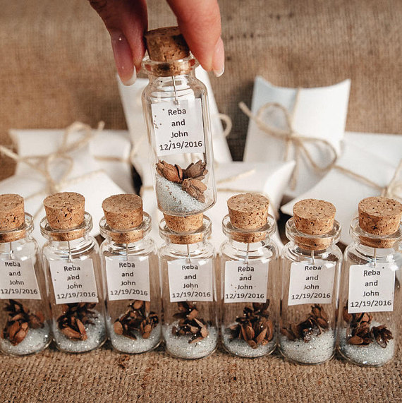 Elegant Wedding Favors, Thank You Gifts For Guests, Rustic