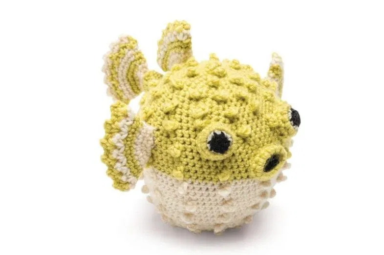 23 Free Crochet Patterns: Sea Creatures – Picot Pals | 523x786