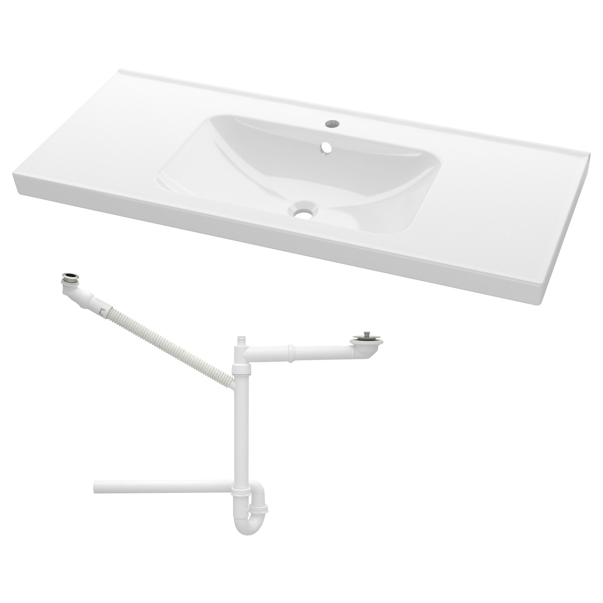 odensvik lavabo simple 100x49x6 cm ikea bathroom ideas