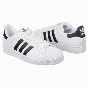 Athletics adidas Men's Superstar 2 White/Black/White Shoes.com