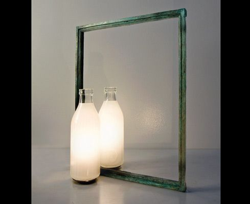 Un litro di luce viabizzuno illuminazione da tavolo living