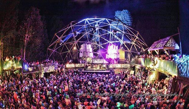the village stage by pk sound   shambhala music festival  salmo bc  canada