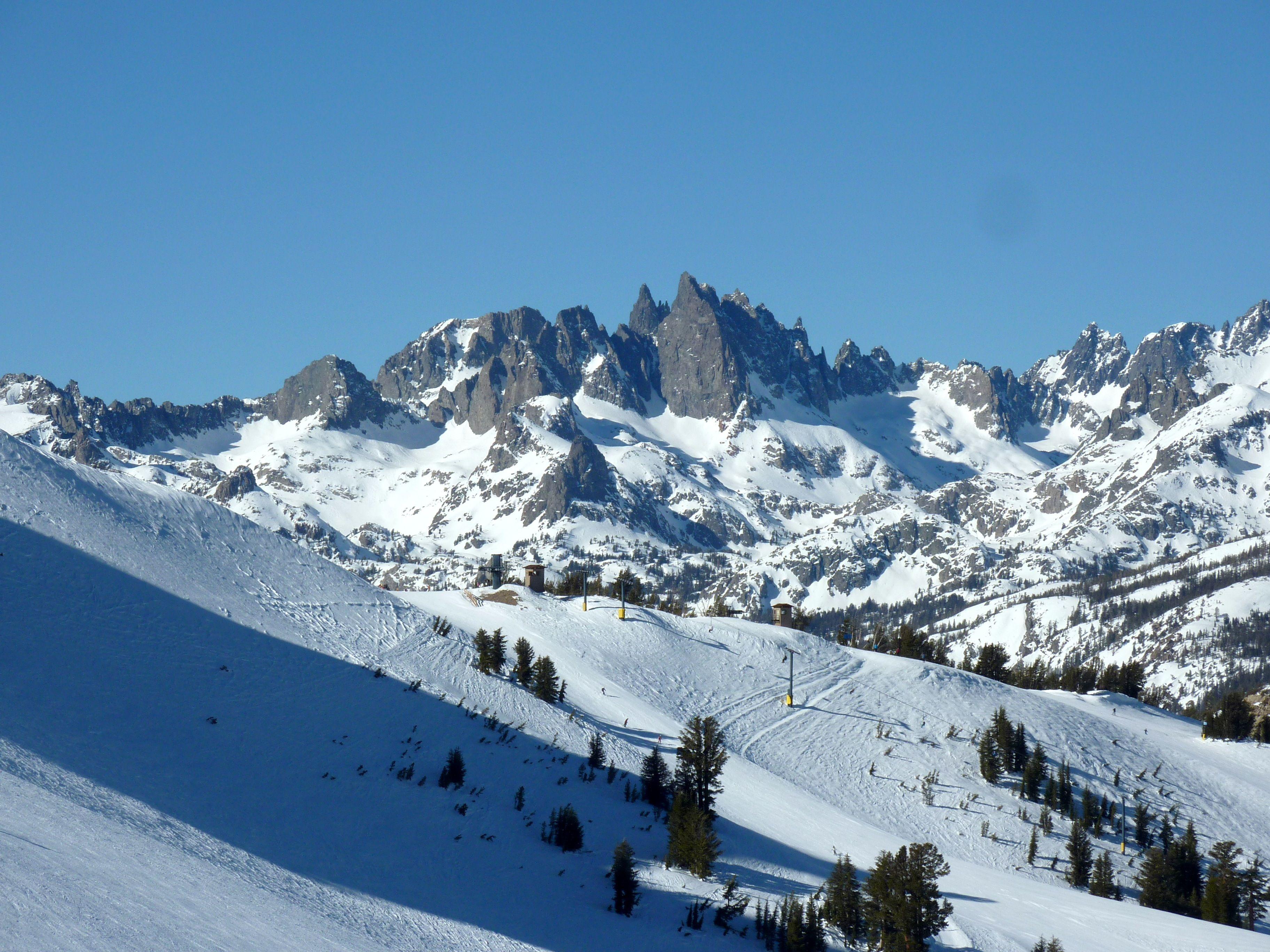 Best Steep Bowls Mammoth Mountain Ski Resort Mammoth Lakes