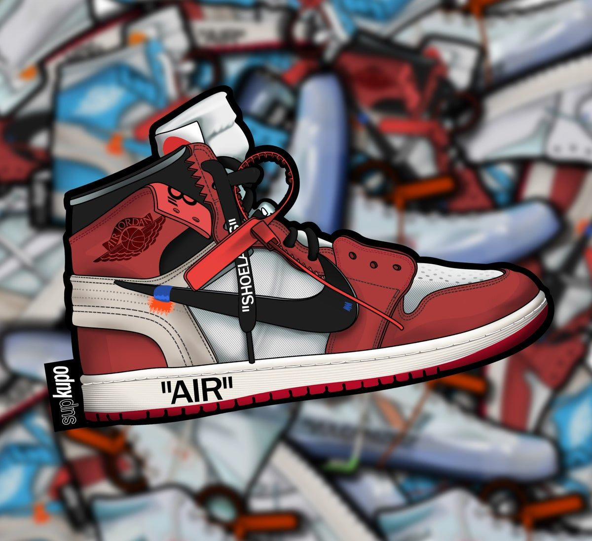 Walter Cunningham Comportamiento arroz  Image of Air Jordan 1 OW Collection | Stylish sneakers, Sneakers sketch,  Shoe design sketches